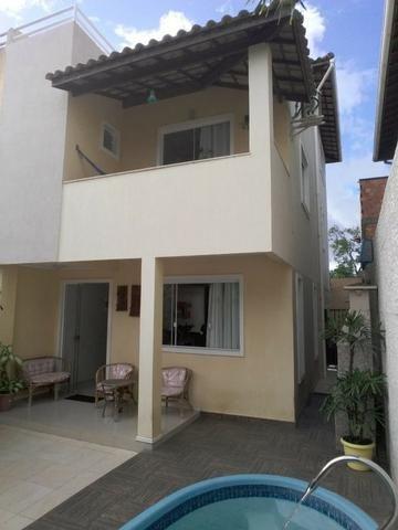 Casa Triplex Mobiliada, Condomínio Fechado, 3/4 (Sendo 2 Suítes), Sala Ampla, 4 Banheiros