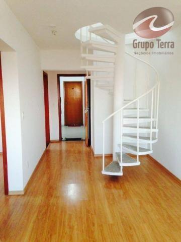 Cobertura com 2 dormitórios à venda, 123 m² por r$ 280.000,00 - jardim oriente - são josé