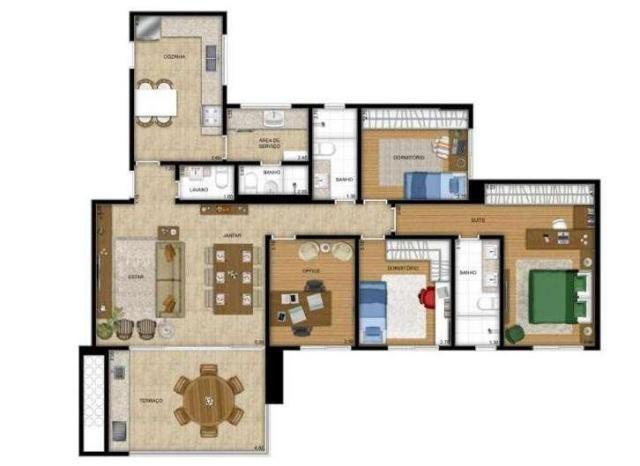 Apartamento à venda, 122 m² por r$ 573.400,00 - jardim das indústrias - são josé dos campo - Foto 20