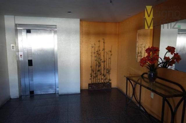 Apartamento com 3 dormitórios para alugar, 114 m² por r$ 800,00/mês - fátima - fortaleza/c - Foto 2