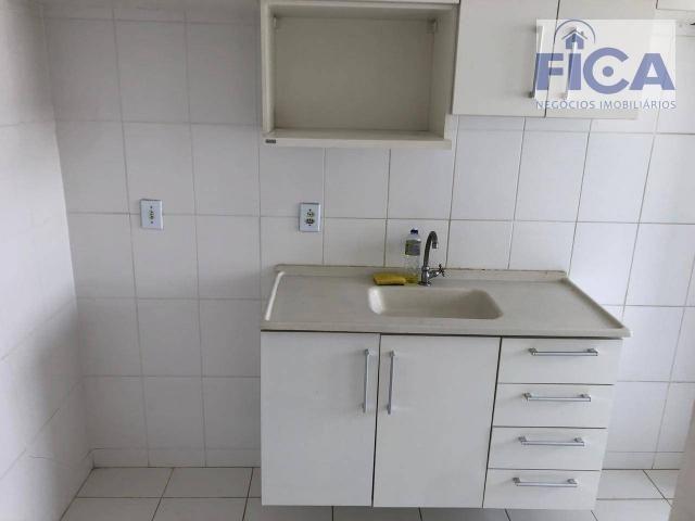 Vende/aluga apartamento ed. allegro (58m² privativos) com 2 quartos/1 bwc/1 vaga no bairro - Foto 6