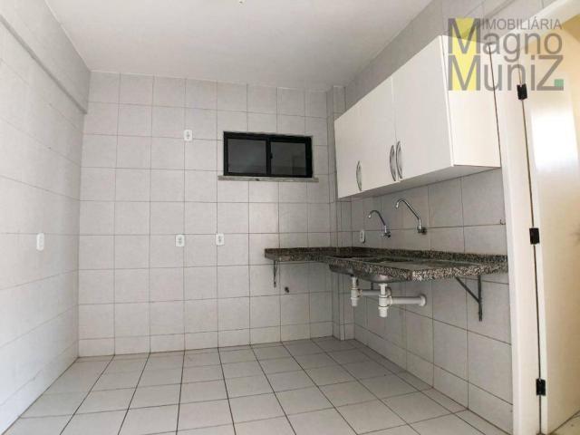 Apartamento com 3 dormitórios para alugar por r$ 500,00/mês - papicu - fortaleza/ce - Foto 19