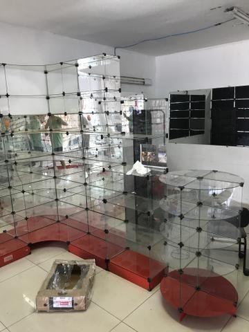 Prateleira de vidro usadas - Foto 6