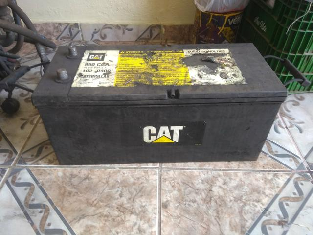 Bateria CAT usada 100 Ampére - Foto 2