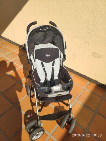 Carrinho de bebê Chicco Trevi + bebê conforto