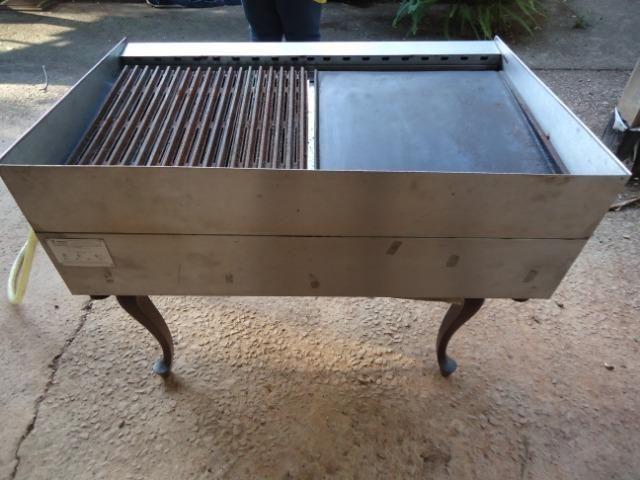 Char broiler Tedesco - grill - chapa - 04 queimadores - Foto 6