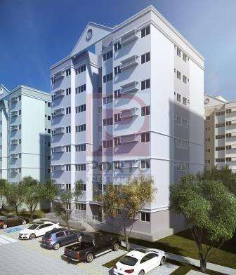 Apartamento à venda com 2 dormitórios cod:64791 - Foto 3