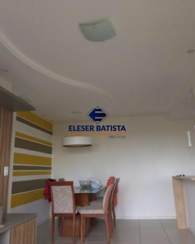 Apartamento à venda com 3 dormitórios em Villagio manguinhos, Serra cod:AP00088 - Foto 4