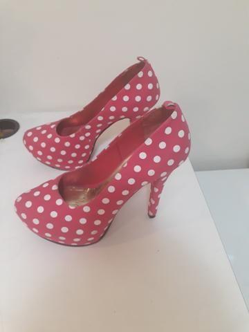 24d03b0bac Sapato de salto. tamanho 35 - Roupas e calçados - Dom Pedro
