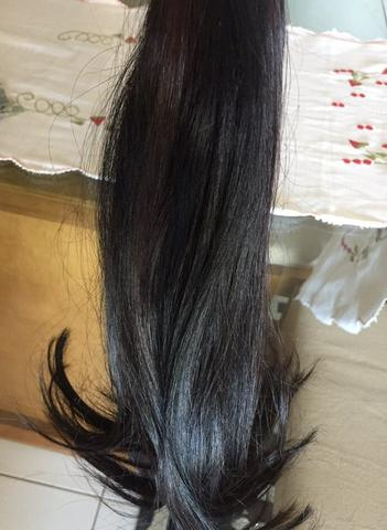 Belíssimo cabelo humano!