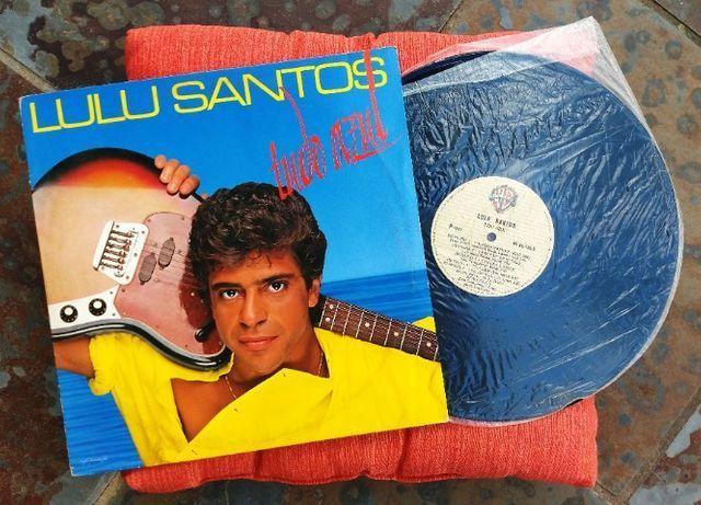 LP Vinil Lulu Santos - Tudo Azul - com encarte