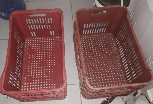 2 Caixotes para armazenar alimentos - Foto 2
