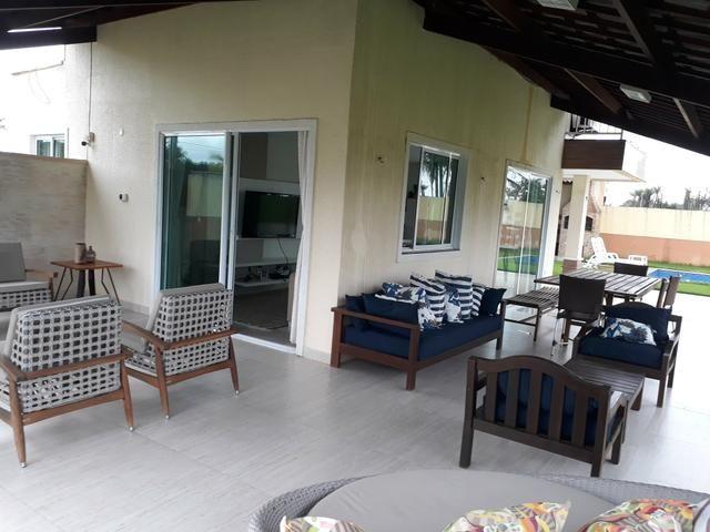 Duplex sendo 3suítes com piscina & deck em condomínio a 20minutos do centro de messejana - Foto 4