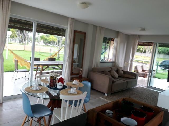 Duplex sendo 3suítes com piscina & deck em condomínio a 20minutos do centro de messejana - Foto 8