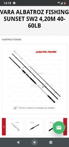Albatroz fishing sunset sw2 3,90m