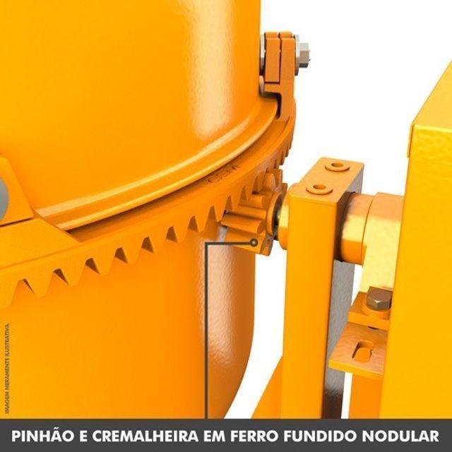 Betoneira completa Csm 200 lt 0,75 cv - Foto 4