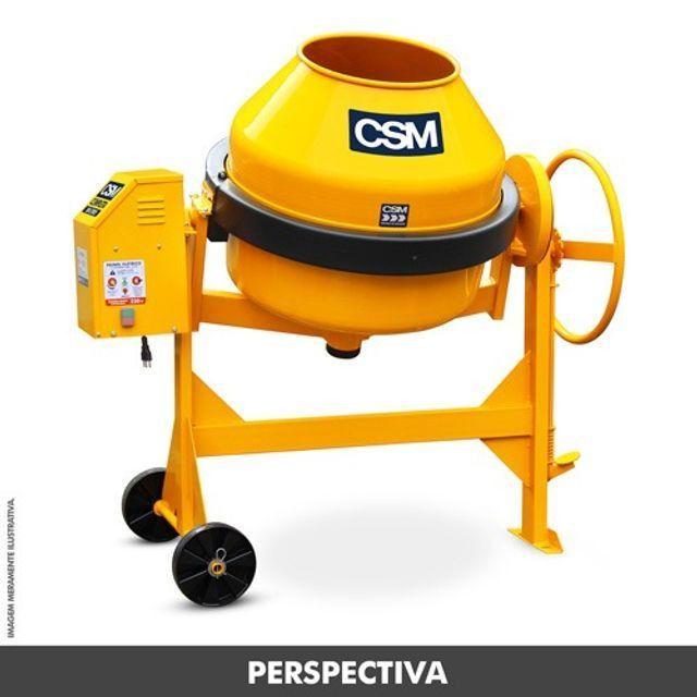 Betoneira completa Csm 200 lt 0,75 cv