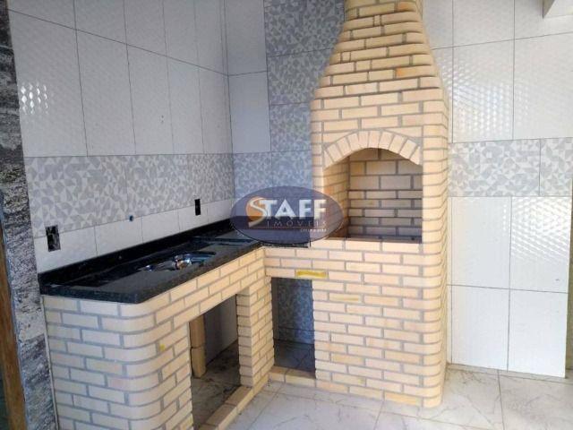 RRR:Casa 2 quartos sendo 1 suite com área gourmet no orla 500 em Unamar-Cabo Frio! - Foto 12