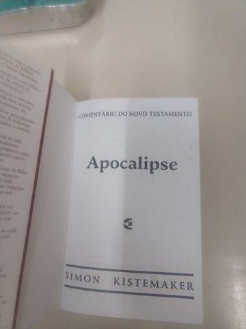 Livro comentário do novo testamento apocalipse - Foto 4