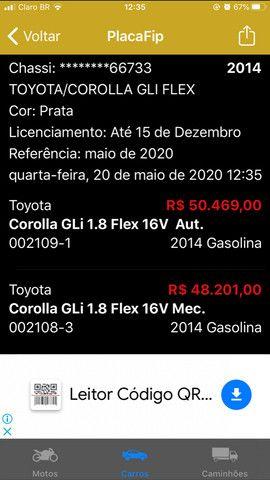 Vendo Corolla gli 2014 manual 1.8 - Foto 5