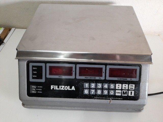 Balança digital filizola cap. 15 kg - Foto 2