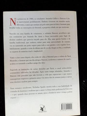 Livro O melhor de Mim de Nicholas Sparks - Foto 2