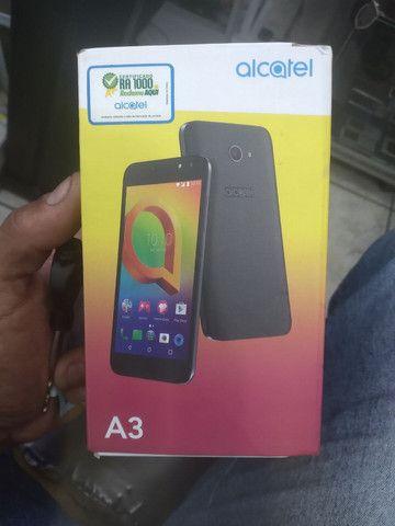 Alcatel a3 novinho na caixa
