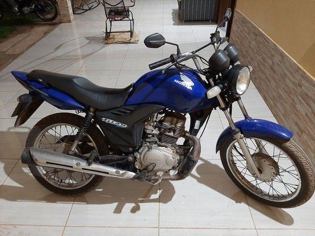 Troco essa moto fan 125. 2012-2013 - Foto 2