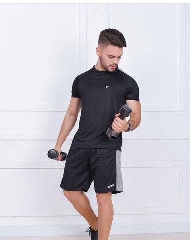 Shorts Dry fit masculino - Foto 4
