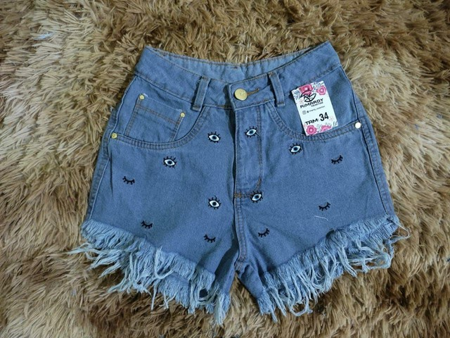 Shorts jeans e macaquito jeans - Foto 4