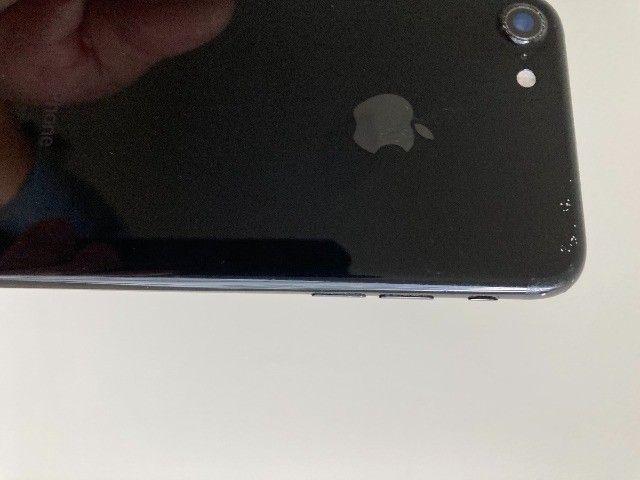 iPhone 7 128 Gb Preto (defeito Na Placa) - Foto 4