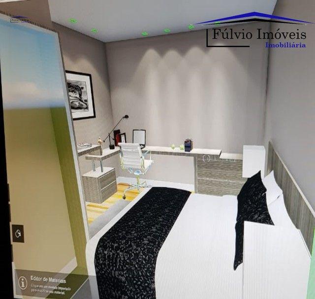 Esplendido apartamento com elevador, excelente condomínio, fino acabamento com porcelanato - Foto 2