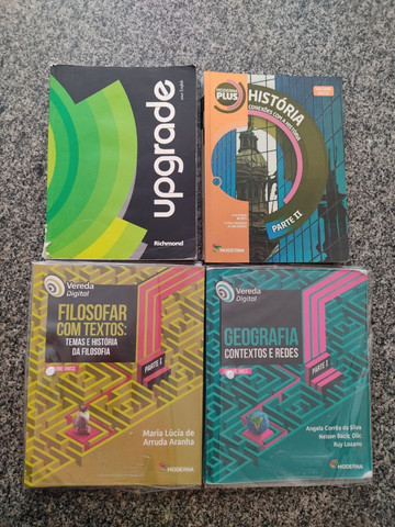 Box Moderna Plus Volumes Únicos