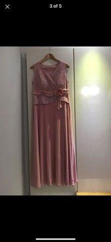 Vestido rosa de festa - Foto 4