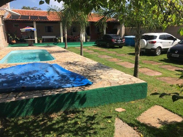 VENDO/ALUGO CASA CHAPADA porteira fechada - Foto 8