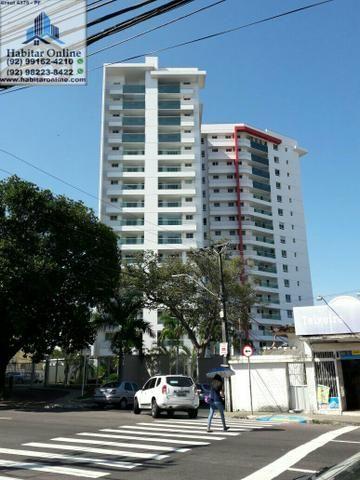 Smart Residence 3 quartos com armários e ar no Centro de Manaus