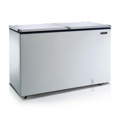 Freezer Horizontal 2 Tampas 439l Efh500 220v - Esmaltec