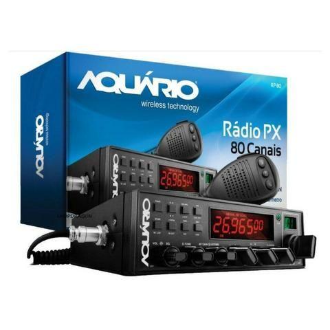 Radio PX Aquario RP 80 Completinho e novo Pra vender HOJE!!!!!!!!!