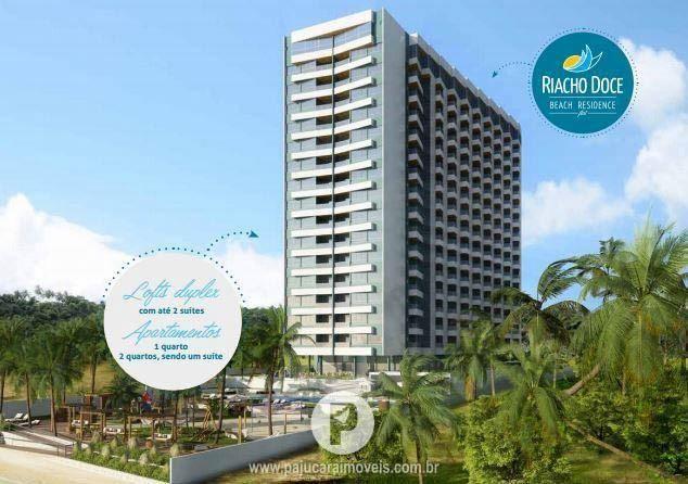 Apartamento Beira Mar, Quarto Sala em Riacho Doce