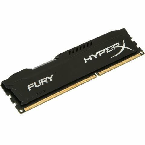 I5 7600k + memória kingston hyperx fury 8gb ddr4 2133mhz