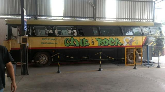 Ônibus Monobloco, mecânica ok e pneus novos - Troco por Van ou Carro do meu interesse - Foto 5