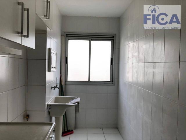 Vende/aluga apartamento ed. allegro (58m² privativos) com 2 quartos/1 bwc/1 vaga no bairro - Foto 4