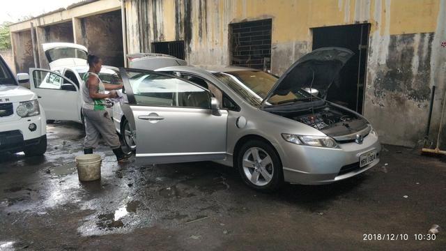 PARA VENDER LOGO! Honda new civic lxs automático 2008/2008 - Foto 2