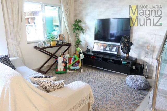 Casa duplex com 3 suítes projetadas para alugar, 140 m² por r$ 5.500/mês - praia do futuro - Foto 16
