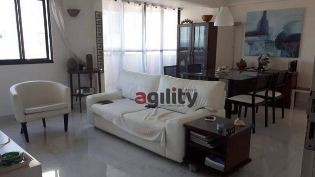 Apartamento com 2 dormitórios à venda, 114 m² por r$ 550.000,00 - capim macio - natal/rn - Foto 5