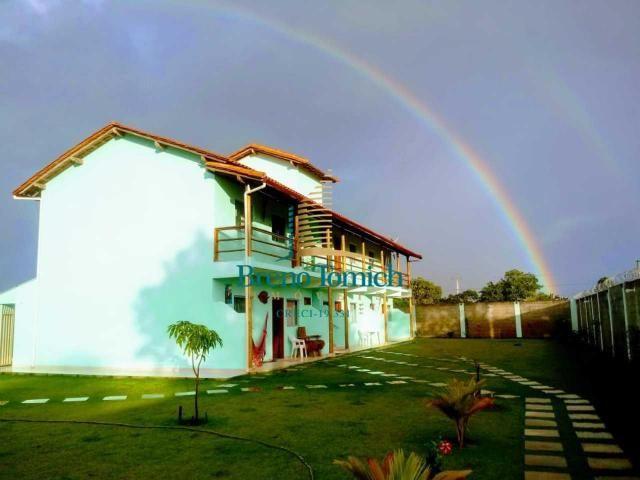 Pousada com 6 dormitórios à venda, 413 m² por r$ 799.000 - coroa vermelha - porto seguro/b - Foto 3