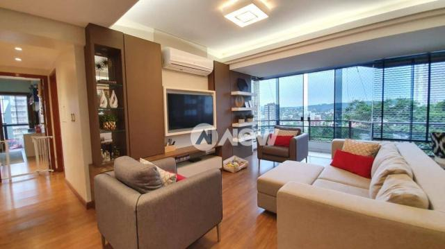 Apartamento com 3 dormitórios à venda, 129 m² por r$ 750.000,00 - centro - novo hamburgo/r