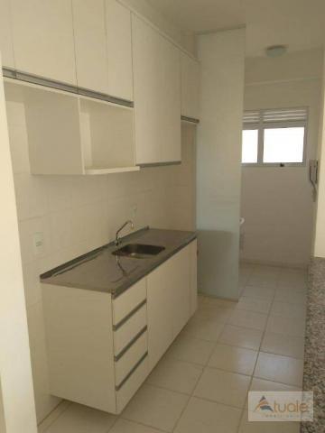 Apartamento com 2 dormitórios à venda ou locação, 57 m² - Residencial Viva Vista - Sumaré/ - Foto 4