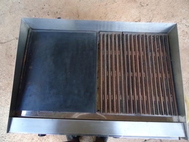 Char broiler Tedesco - grill - chapa - 04 queimadores - Foto 4