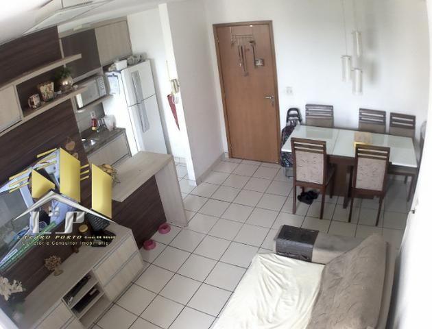 Laz - Alugo apartamento com varanda 2Q sendo uma suite condomínio com lazer completo - Foto 2
